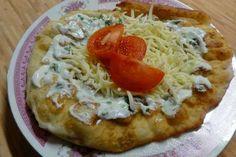 Jak připravit bramborové langoše   recept Vegetable Pizza, Mashed Potatoes, Pancakes, Meat, Chicken, Dinner, Vegetables, Cooking, Ethnic Recipes