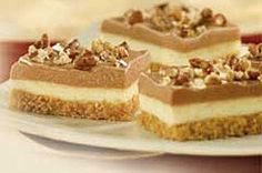 Jell-O No Bake Chocolate Cheesecake Bars