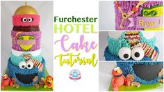 Furchester Hotel Cake (Youtube Tutorial)