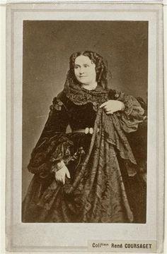 Mme Sabatier Barenne Charles (2e moitié 19e siècle) ca. 1860