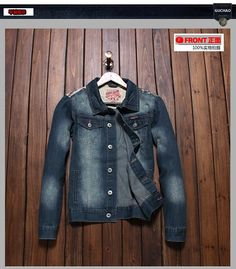 >> Click to Buy << TK  Men'S Washed Vintage Slim Motorcycle Us Flag Patch Retro Denim Jacket Male Jeans Coat Men's Cotton Tops#TBK6893 #Affiliate