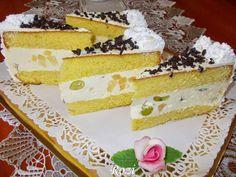 Rozi Erdélyi konyhája: Diplomata torta Meals, Cooking, Cake, Desserts, Recipes, Cook Books, Food, Navidad, Power Supply Meals
