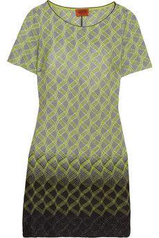 MISSONI - Metallic Crochet-Knit Dress