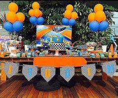 Como Fazer Decoração de Festa Infantil de Aniversário Carros