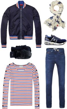 A sporty casual look for her | Maison Scotch, Barts, Premiata | www.eb-vloed.nl
