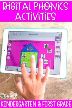 Engage your students during phonics instruction with these digital phonics activities. You will love using these phonics activities throughout your entire year!