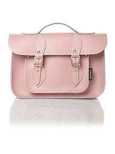 ZATCHELS Pink Mini Satchel Bag
