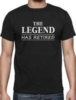 The Legend Has Retired - Great Retirement Gift Idea T-Shirt Funny