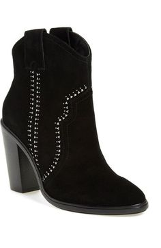 Joie 'Monte' Suede Bootie (Women) (Nordstrom Exclusive) available at #Nordstrom