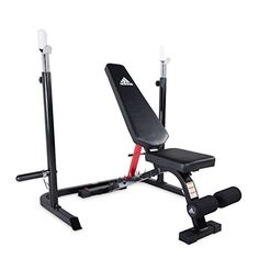 Easily adjustable to flat incline and decline positions. Solid steel construction and compact in size. Leg extension with weight plate holder.  sc 1 st  Pinterest & Buy Phoenix 99226 Power Pro Olympic Bench Full Olympic size not a ...