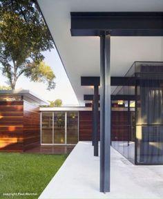 Steel to steel. Baldridge Architects