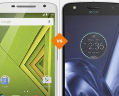 Moto X Play ou Moto Z Play: decida qual celular tem a melhor ficha técnica (Foto: Arte/TechTudo)