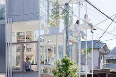 Arquitectura residencial japonesa. House NA. Sou Fujimoto