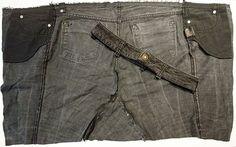 Upcycling Jeans zu einer Tasche nähen