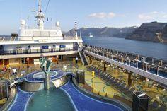 Here Costa Cruises Cruise Ships Atlantica Ship Sun Deck Costa Atlantica, Cruise Boat, Cruise Ships, My Dream, Deck, World, Cruises, Boats, Sun