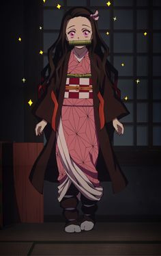 Demon Slayer: Kimetsu no Yaiba (Episode - The House with the Wisteria Family Crest - The Otaku Author Demon Manga, Manga Anime, Manga Kawaii, Fanarts Anime, Kawaii Anime Girl, Otaku Anime, Anime Art Girl, Anime Characters, Anime Chat