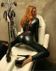 Latex, Shoes, and a little Muscle!