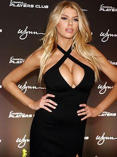 Charlotte McKinney teases with magnificent knockers
