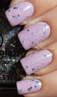China Glaze Techno glitter- Spring 2012 Electropop Collection