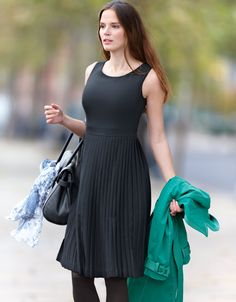 Pleat Skirt Dress, £79