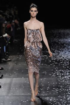 Nina Ricci RTW Spring 2013. Very pretty but the fitting on the model seems a bit loose.