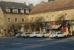 November 1989. Meißner Straße, RADEBEUL, Dresden. DDR | by sludgegulper