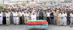 MQM workers Abdul Wahab and Mohammed Rafique buried.