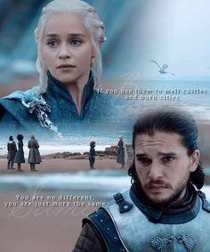 Game of thrones Jon Snow x Daenerys Targaryen #gotseason7 #Jonerys