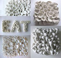 Ceramic Flowers Sculptures by Angela Schwer – Fubiz Media