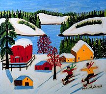 Image detail for -by Maud Lewis