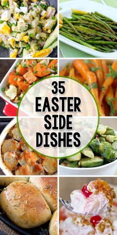 35 Side Dishes Perfect for Easter - Wendy Schultz ~ Easter Recipes. Easter Side Dishes, Sides For Easter Dinner, Side Dishes With Ham, Easter Treats, Easter Food, Salad For Easter, Easter Fish Recipes, Desserts For Easter, Easter Bunny