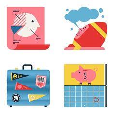 Spot illustrations on college debt for @politico #vector #editorial #illustration #bestvector #designspiration #MUTI by studiomuti
