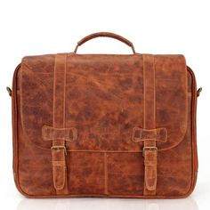 BUY #BRUNE TAN OFFICE FLAPOVER #BRIEFCASE FOR MEN @ Rs. 6,999/-