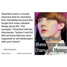 Chanyeol and Kris' meaningful friendship <3 #exo