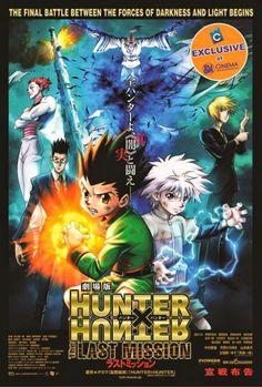 Geek <b>Hunter x hunter.</b> Crunchyroll - Hunter x Hunter: The Last Mission Anime Film Heads . Hisoka, Zoldyck, Gon Killua, Gon Hunter, Hunter Anime, Anime Dvd, Manga Anime, Assassin, Movies
