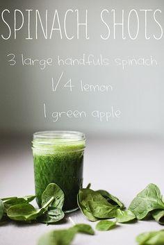 Spinach Shots