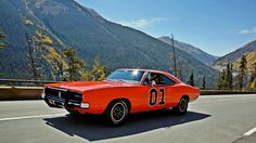Wallpaper general lee, dodge charger, dodge, the dukes of hazzard
