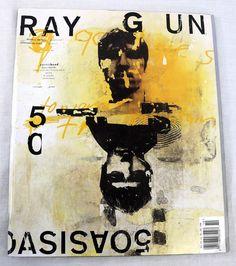 Ray Gun Magazine Covers : Chris Ashworth by David Carson David Carson Design, David Carson Work, Typography Inspiration, Graphic Design Inspiration, Typography Design, Layout Inspiration, Graphic Design Magazine, Magazine Cover Design, Magazine Covers