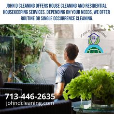 Your cleaning problems in any area resolved in minutes. Deep Cleaning Services, Texas Homes, Clean House, Housekeeping, How To Find Out, Plants, Plant, Planting, Planets