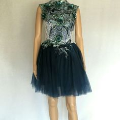 *Nwot* Ink Blue Short Dress. Only 1 Available!
