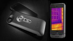 iPhone 5/5sが赤外線サーモグラフィになるケース「FLIR ONE」