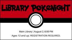 Hosting a Library PokeNight