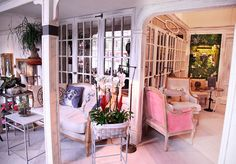 Salón des Fleurs - AD España, © D.R. Cafe Shop, Decoration, Divider, Space, Interior, Room, Shopping, Shops, Furniture