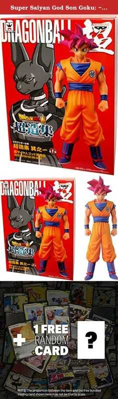 """Super Saiyan God Son Goku: ~5.9"""" DragonBall Super 'Chozoushu' The Figure Collection + 1 FREE Official DragonBall Trading Card Bundle (498998). This ~5.9"""" sculpture of Goku is part of the DragonBall Super 'Chozoushu' The Figure Collection from Banpresto! Banpresto creates this series and aims to create a collection of product that is made of super quality figures. In addition, the sculptor of each figure in this series are all artists who have years of experience in creating DragonBall..."""