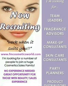 Join FM Perfume and start earning cash for simply wearing perfume and mineral makeup - that's as hard as the work gets!! (well, you do have to talk to people over a coffee aswell!) #fmperfume #fmcosmetics #workfromhome #directsales #extracash