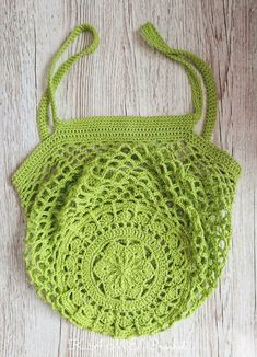 Sakura Market Bag Crochet pattern by K. Crochet - my best baby product list Gilet Crochet, Bag Crochet, Crochet Market Bag, Crochet Crafts, Crochet Projects, Free Crochet, Christmas Knitting Patterns, Crochet Patterns, Cascade Yarn