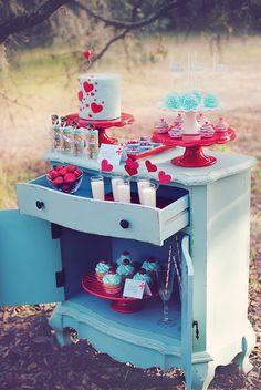 Cool dessert bar idea