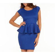 Tailored peplum dresses plus size | Smart & Sexy Women's Plus Size Peplum Dress - Walmart.com