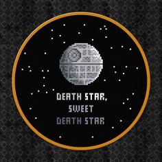 Death Star Sweet Death Star Star Wars por AmazingCrossStitch