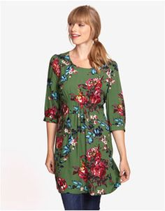 WICKMERE Womens Patterned Woven Tunic
